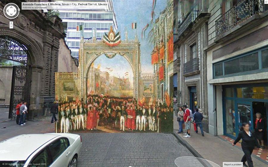 La ciudad de m xico del siglo xix en google street view for Casa de los azulejos ciudad de mexico cdmx