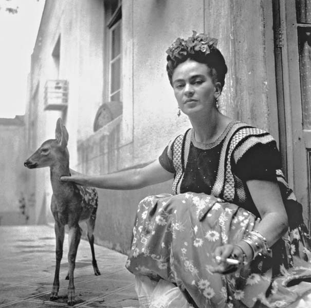 Frida-with-Granizo-Coyoacán