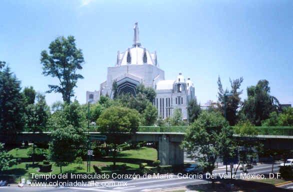 templo colonia del valle